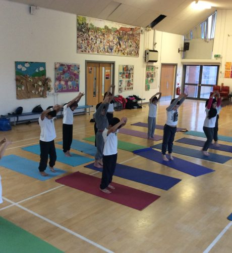 After School Yoga for Year 2 children
