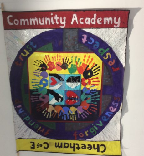 Cheetham School Values Banner