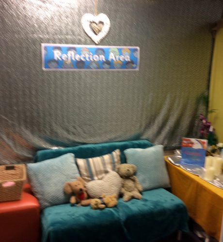 Reflection Area in Year 2