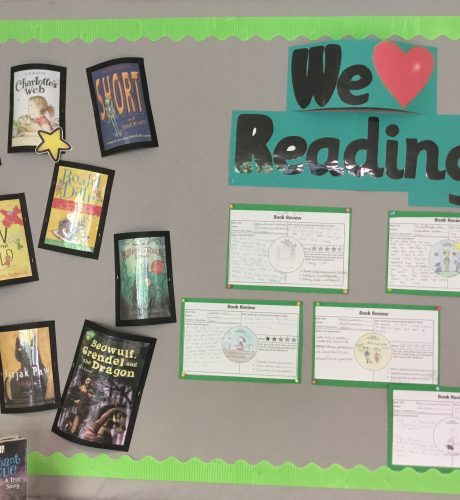 Year 4 reading corner