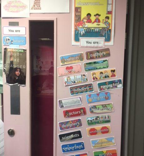 Year 6 Door Display