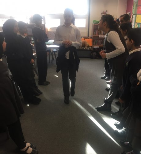 Year 6 drama - Conscience Alley