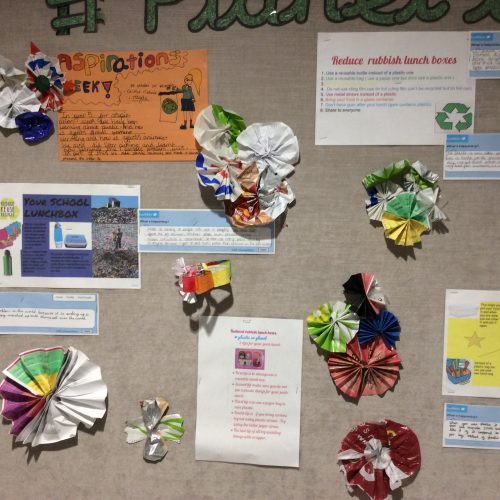 Aspirations week - recycling
