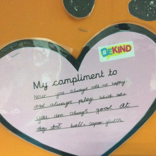 Compliments in Year 3