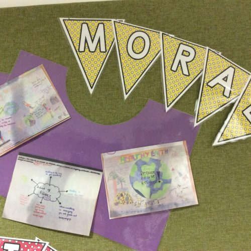 Moral display in Year 5