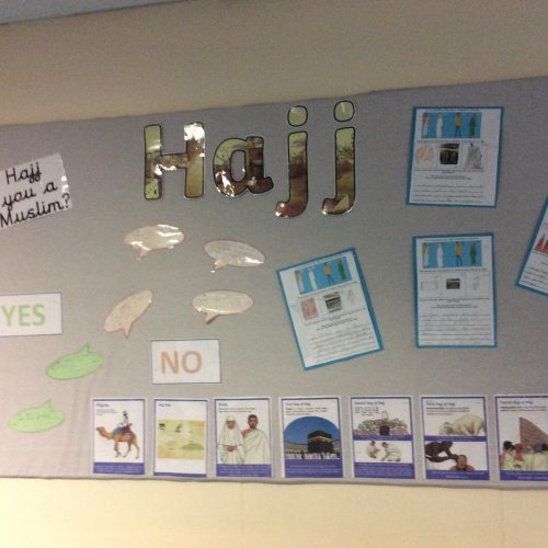 RE Display in Year 3