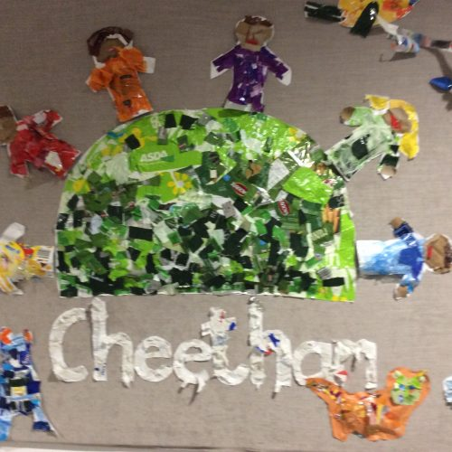 Recycled Cheetham Logo