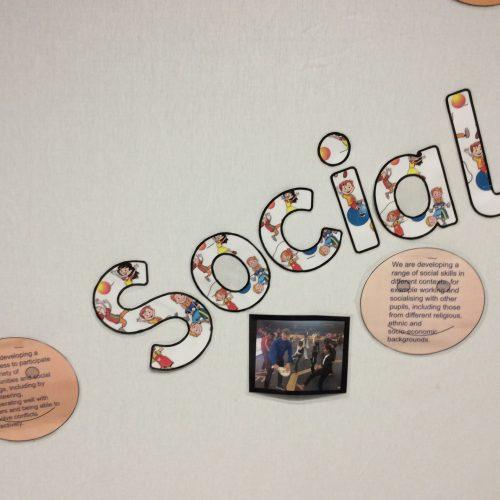 Social display in Year 6