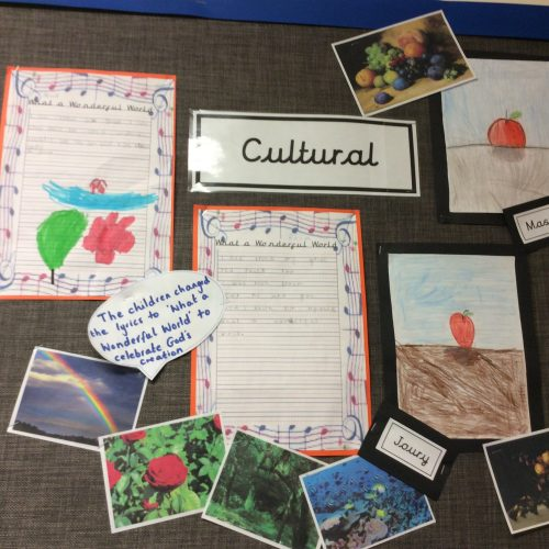 The Story of Creation Cultural