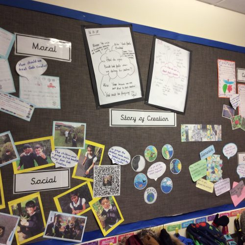 The Story of Creation Display