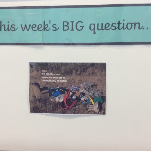Weekly big questions